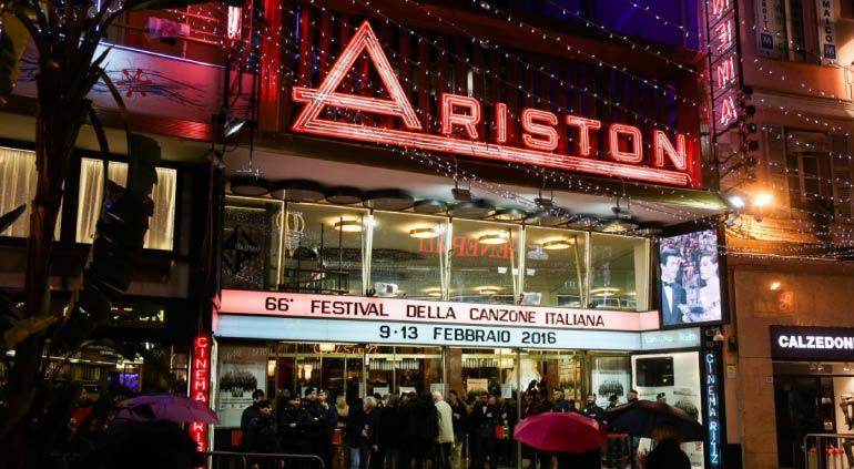 Ariston Theater sanremo